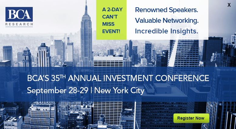 BCA Investment Conference