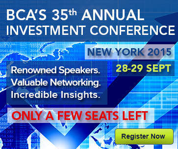 BCA Investment Conference New York 2015